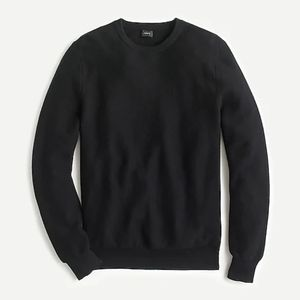 J. CREW BLACK CREWNECK BRAND NEW SWEATER